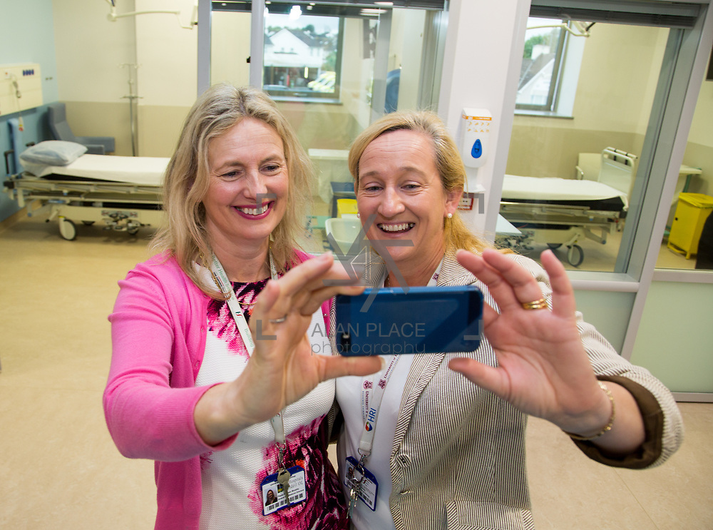 29.05. 2017.                                             <br /> IRELAND&rsquo;S largest and most advanced Emergency Department has opened this Monday at University Hospital Limerick.<br /> <br /> Pictured are  Mairead Cowan and Paula Cussin Murphy.<br /> <br /> A &euro;24 million project (development and equipment costs), the ED spans 3,850 square metres of floor space, over three times the size of the old department. In 2016, UHL had the busiest ED in the country, with over 64,000 attendances. Picture: Alan Place