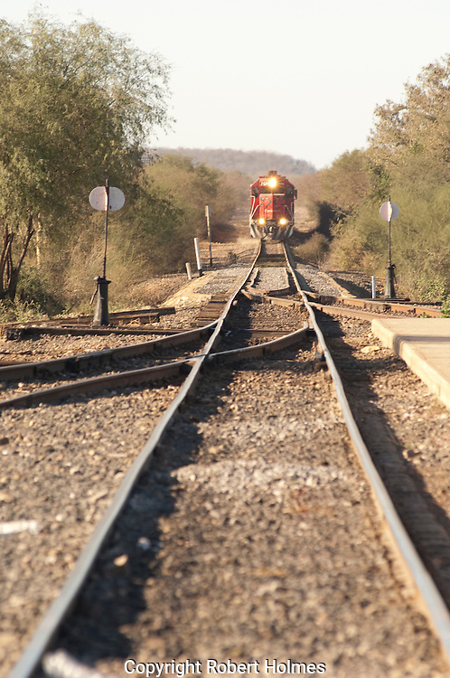 Chepe Railroad into the Copper Canyon, Mexico