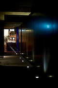 Photo shows the entrance to Suiboku luxury lofts in Hirafu, northern Japan on Feb. 6 2010.