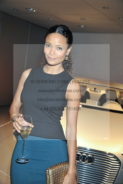 THANDIE NEWTON at the Global Launch of Audi's first Digital Showroom, 74-75 Piccadilly, London on 16th July 2012.