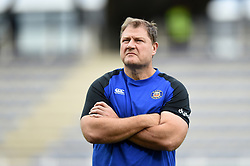 Bath Assistant Coach Neal Hatley looks on during the pre-match warm-up - Mandatory byline: Patrick Khachfe/JMP - 07966 386802 - 15/12/2019 - RUGBY UNION - Stade Marcel-Michelin - Clermont-Ferrand, France - Clermont Auvergne v Bath Rugby - Heineken Champions Cup