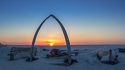 At the top of the world lies the largest Eskimo Inupiat village of Utqiagvik, formerly Barrow.