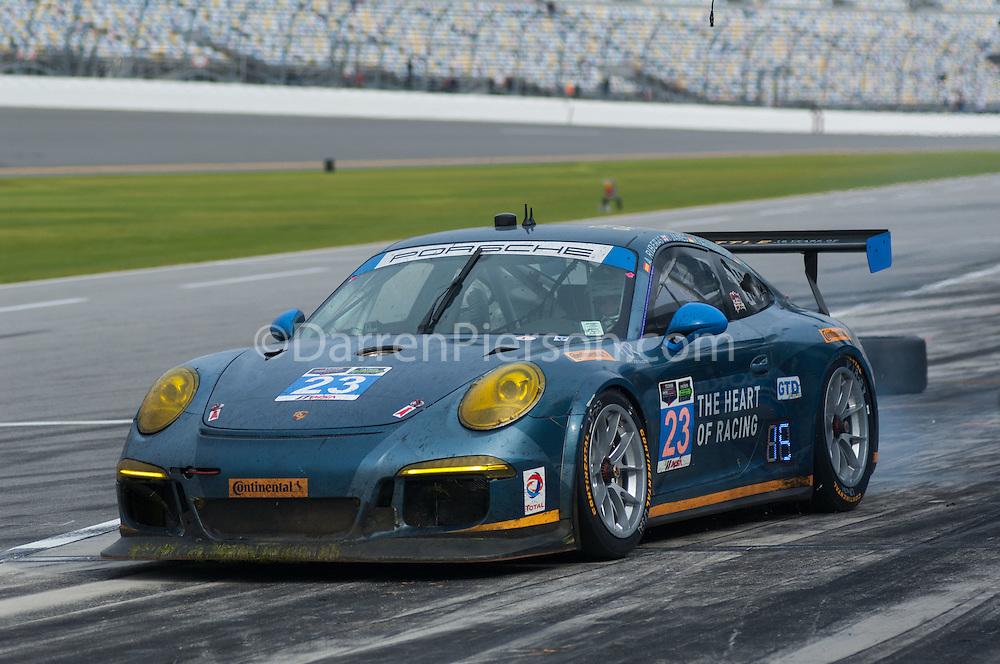 #23 Team Seattle/Alex Job Racing Porsche 911 GT America: Ian James, Mario Farnbacher, Marco Holzer, Alex Riberas