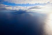 Lanai Island seen from Maui, Hawaii