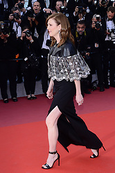 May 15, 2019 - WORLD RIGHTS.Cannes, France, 15.05.2019, 72th Cannes Film Festival in Cannes. The 72th edition of the film festival will run from May 14 to May 25. .''Les Miserables'' Red Carpet .NZ. Julianne Moore .Fot. Radoslaw Nawrocki/FORUM (FRANCE - Tags: ENTERTAINMENT; RED CARPET) (Credit Image: © FORUM via ZUMA Press)