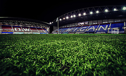A general view of The DW Stadium, home to Wigan Athletic - Mandatory by-line: Robbie Stephenson/JMP - 17/01/2018 - FOOTBALL - DW Stadium - Wigan, England - Wigan Athletic v Bournemouth - Emirates FA Cup third round proper