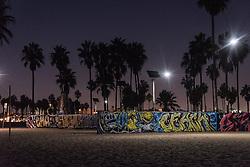 Graffiti art along the boardwalk  of Venice Beach, California October 9, 2014. (Photo by Ami Vitale)