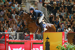 Jos Verlooy, (BEL), Domino<br /> Longines Los Angeles Masters 2014<br /> Los Angeles Convention Center<br /> © Hippo Foto - Counet Julien<br /> 28/09/14