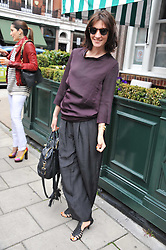 MELANIE RICKEY at a lunch to celebrate the the Lulu & Co Autumn/Winter 2011 collection held at Harry's Bar, 26 South Audley Street, London W1 on 21st June 2011.