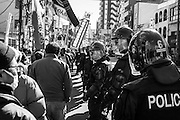 Protest of laborers in SANYA against the murder of the 2 Japanese film director Sato Mitsuo / Yamaoka Kyoichi