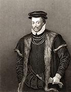 Edward North, 1st Baron North (1496?-1564) English statesman. Engraving.