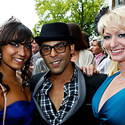 NLD/Amsterdam/20100801 - Inloop premiere musical Crazy Shopping, Ivo Chundro