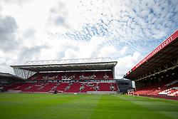 A General View of Ashton Gate Stadium as final preperations take place ahead of Bristol CIty's opening Sky Bet Championship game of the 2016/17 season - Rogan Thomson/JMP - 05/08/2016 - SPORT - Ashton Gate Stadium - Bristol, England.