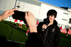 Dan White and Lewis Barton - Mandatory by-line: Ryan Hiscott/JMP - 19/01/2020 - FOOTBALL - Stoke Gifford Stadium - Bristol, England - Bristol City Women v Liverpool Women - Barclays FA Women's Super League