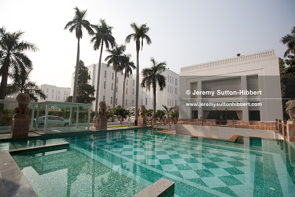 The Imperial Hotel, on Janpath, near Connaught Place, in New Delhi, India, on 22nd December 2011.