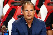 15-08-2015 VOETBAL:AJAX-WLLEM II:AMSTERDAM<br /> Trainer/Coach Frank de Boer van Ajax <br /> <br /> <br /> Foto: Geert van Erven