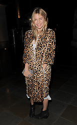 Sienna Miller attends LFW: Mathew Williamson - s/s 2014 catwalk show in London 15/09/2013<br /> BYLINE MUST READ : GOTCHAIMAGES.COM<br /> <br /> Copyright by © Gotcha Images Ltd. All rights reserved.<br /> Usage of this image is conditional upon the acceptance <br /> of Gotcha Images Ltd, terms and conditions available at<br /> www.gotchaimages.com