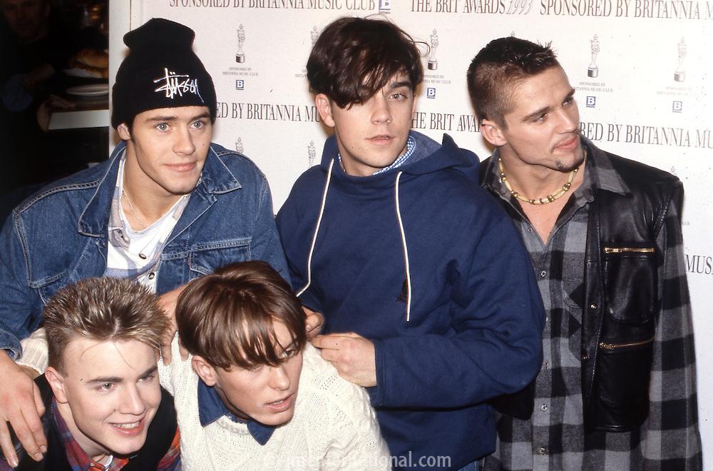 The BRIT Awards 1993 at Alexandra Palace, London..Tuesday, Feb.16, 1993 (Photo/John Marshall JME)