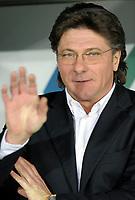 Walter Mazzarri, allenatore del Napoli <br /> Torino 13/01/2010 Stadio Olimpico<br /> Juventus Napoli - Ottavi di finale di Coppa Italia 2009-10.<br /> Foto Giorgio Perottino / Insidefoto