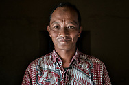 Indonesian man travel portrait