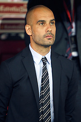 25.05.2012, Vicente Calderon Stadion, Madrid, ESP, Kings Cup Finale, FC Barcelona vs Athletic Bilbao, im Bild Barcelona's coach Pep Guardiola // during the Spanish Kings Cup final match between Fc Barcelona and Athletic Bilbao at the Vicente Calderon Stadium, Madrid, Spain on 2012/05/25. EXPA Pictures © 2012, PhotoCredit: EXPA/ Alterphotos/ Alvaro Hernandez..***** ATTENTION - OUT OF ESP and SUI *****