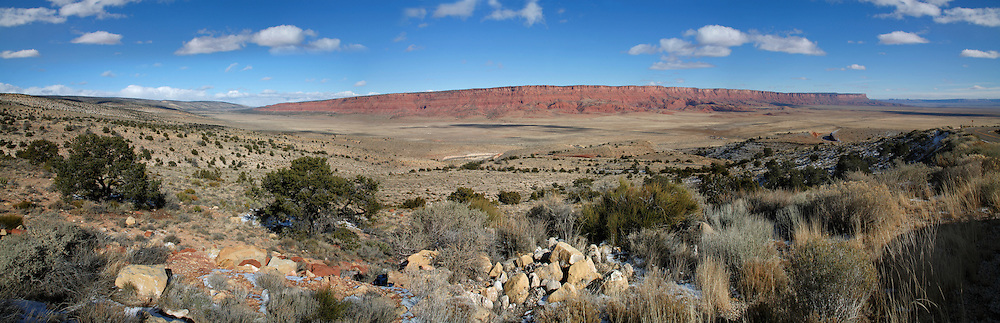 The Vermilion Cliffs Of Northern Arizona, Taken From Highway 89 Between Marble Canyon And Jacob Lake
