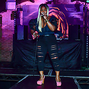 "Artist Valerie M performs at The Third Annual Integrity Awards by Dragon Lady Productions and The Peace Project 21st ""The Alternative Fashion Integrity Awards 2019 & Film Networking Soirée"" on 21 September 2019, Fire Club Vauxhall, London, UK."
