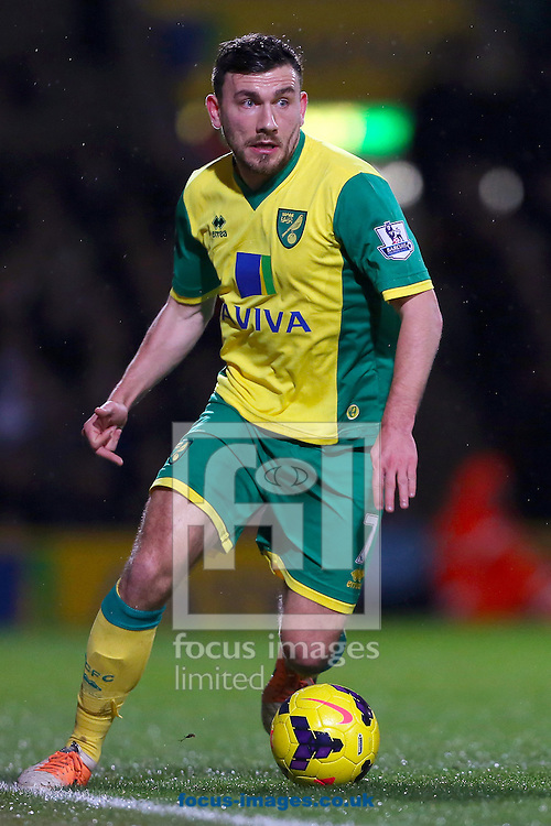 Picture by Richard Calver/Focus Images Ltd +447792 981244<br /> 28/01/2014<br /> Robert Snodgrass of Norwich City during the Barclays Premier League match against Newcastle United at Carrow Road, Norwich.