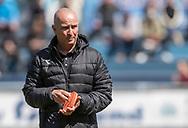 FODBOLD: Assistenttræner Brian O'Donnell (FC Helsingør) før kampen i NordicBet Ligaen mellem FC Helsingør og Næstved Boldklub den 12. maj 2019 på Helsingør Stadion. Foto: Claus Birch