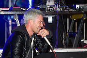 The Limousines headline on the Main Stage at Left Coast Live in Downtown San Jose, Calif., Oct. 8, 2011.  Photo by Stan Olszewski/SOSKIphoto