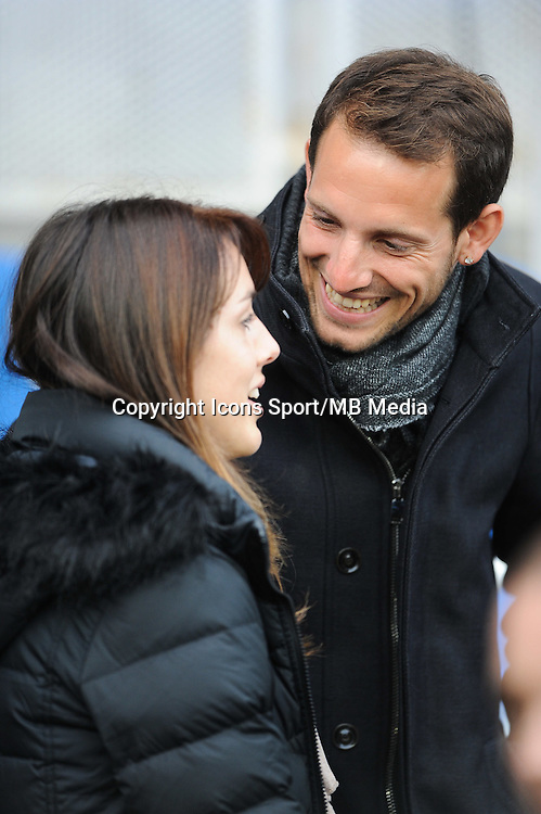 Anais Poumarat / Renaud Lavillenie - 14.12.2014 - Clermont / Munster - European Champions Cup <br /> Photo : Jean Paul Thomas / Icon Sport