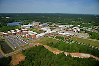 Aerial of Centennial Campus looking west.