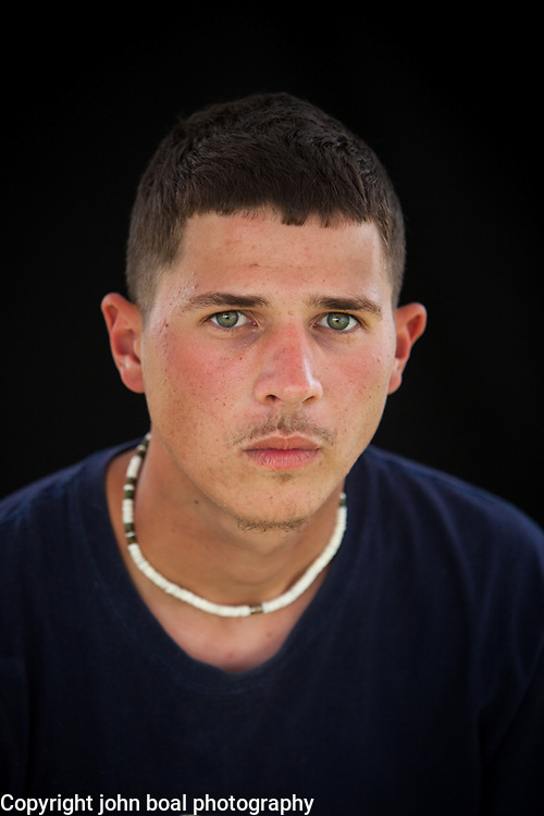 Quinton Talbott. Portraits at the Monacan Powwow.  Elon, VA.  Saturday, May 16, 2015.  John Boal Photography