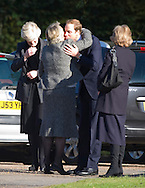 "PRINCE WILLIAM.attends the funeral of his nanny Olga Powell, who died recently at the age of 82-years old. The service was held at Parndon Wood Crematorium, Harlow, Essex.Princess Diana's sisters Lady Jane Fellowes and Lady sarah McCorquodale were also present. 10/10/2012.Mandatory credit photo: ©Dias/NEWSPIX INTERNATIONAL..(Failure to credit will incur a surcharge of 100% of reproduction fees)..                **ALL FEES PAYABLE TO: ""NEWSPIX INTERNATIONAL""**..IMMEDIATE CONFIRMATION OF USAGE REQUIRED:.DiasImages, 31a Chinnery Hill, Bishop's Stortford, ENGLAND CM23 3PS.Tel:+441279 324672  ; Fax: +441279656877.Mobile:  07775681153.e-mail: info@newspixinternational.co.uk"
