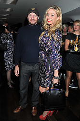 SCOT YOUNG and NOELLE RENO at a party to relaunch the Met Bar at 19 Old Park Lane, London W1 on 5th October 2011.
