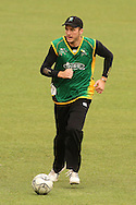 Seth Rance of the Central Stags during the Central Stags training session held at St Georges Park in Port Elizabeth on the 20 September 2010..Photo by: Shaun Roy/SPORTZPICS/CLT20