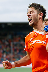 THE HAGUE - Rabobank Hockey World Cup 2014 - 2014-06-03 - MEN - The Netherlands - Korea - Robbert Kemperman scoort vlak voor tijd de 2-1