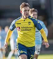 FODBOLD: Lasse Vigen Christensen (Brøndby IF) under kampen i Reserveligaen mellem Brøndby IF og FC Helsingør den 6. november 2017 på Brøndby Stadion, bane 2. Foto: Claus Birch