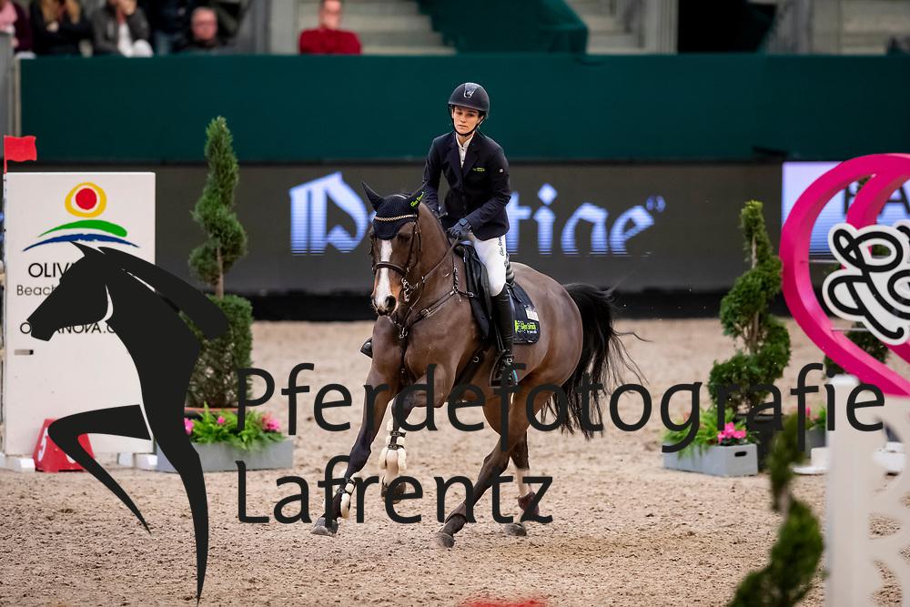 SCHWARTE Lisa (GER), Bugatti du Rouet<br /> Leipzig - Partner Pferd 2019<br /> SPOOKS-Amateur Trophy<br /> Medium Tour<br /> 18. Januar 2019<br /> © www.sportfotos-lafrentz.de/Stefan Lafrentz