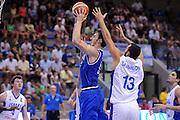 LIGNANO SABBIADORO, 15 LUGLIO 2015<br /> BASKET, EUROPEO MASCHILE UNDER 20<br /> ITALIA-ISRAELE<br /> NELLA FOTO: Giacomo Zilli<br /> FOTO FIBA EUROPE/CASTORIA