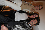 CAROLE RADZIWILL; SONYA MORGAN; YURI BASS, Jonathan Adler Store opening. Sloane St. London. 16 November 2011. <br /> <br />  , -DO NOT ARCHIVE-&copy; Copyright Photograph by Dafydd Jones. 248 Clapham Rd. London SW9 0PZ. Tel 0207 820 0771. www.dafjones.com.