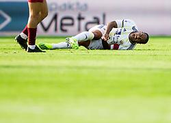 Marcos Magno Morales Tavares of Maribor injured during football match between NK Triglav Kranj and NK Maribor in Round #7 of Prva liga Telekom Slovenije 2018/19, on September 2, 2018 in Kranj, Slovenia. Photo by Vid Ponikvar / Sportida