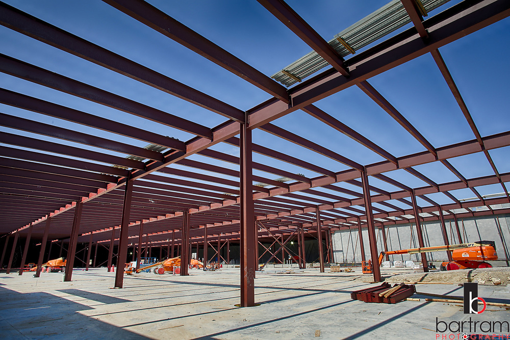 T5 Data Center construction in Plano, Texas on March 8, 2017. PHOTO BY KEVIN BARTRAM
