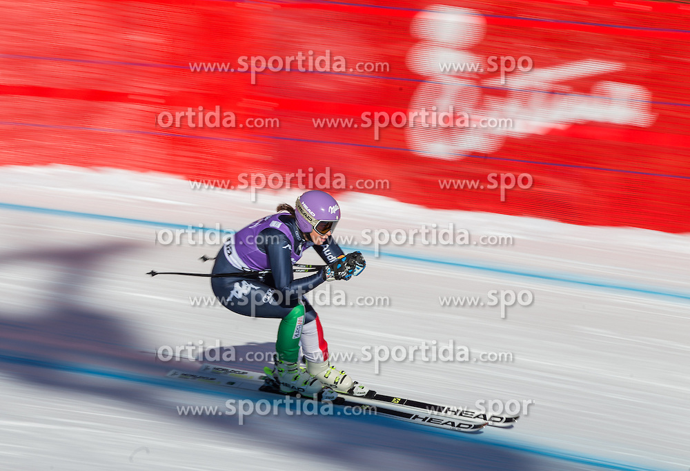22.01.2016, Olympia delle Tofane, Cortina d Ampezzo, ITA, FIS Weltcup Ski Alpin, Abfahrt, Damen, 2. Training, im Bild Elena Curtoni (ITA) // Elena Curtoni of Italy competes in the 2nd training run for the ladies Downhill of the Cortina FIS Ski Alpine World Cup at the Olympia delle Tofane course in Cortina d Ampezzo, Italy on 2016/01/22. EXPA Pictures © 2016, PhotoCredit: EXPA/ Johann Groder