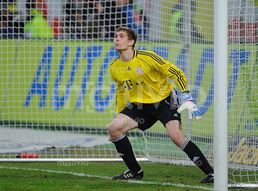 Fussball Bundesliga Saison 2010/2011 VFL Wolfsburg - FC Bayern Muenchen Thomas KRAFT (FC Bayern).