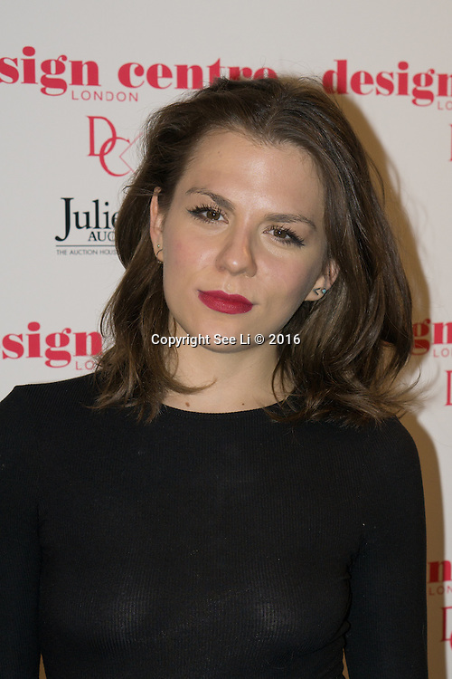 London,England,UK : 25th May 2016 : Morgane Polandski attend the Marilyn Monroe: Legacy of a Legend launch at the Design Centre, Chelsea Harbour, London. Photo by See Li