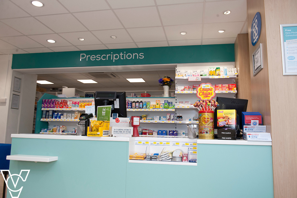 Pictured is the inside of the Lincolnshire Co-operative Washingborough Pharmacy<br /> <br /> Official re-opening of the refurbished Washingborough Food Store and precinct, which includes the Co-op Pharmacy.<br /> <br /> Date: October 30, 2015<br /> Picture: Chris Vaughan/Chris Vaughan Photography