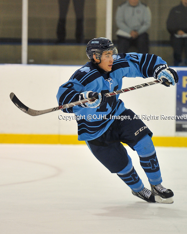 Ontario Junior Hockey League game action between Stouffville and St ...