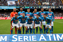 October 29, 2017 - Naples, Campania/Napoli, Italy - This afternoon they faced the San Paolo Stage, Naples captain, against the Emilian team of Sassuolo. (Credit Image: © Fabio Sasso/Pacific Press via ZUMA Wire)