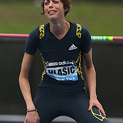 Blanka Vlasic, Croatia, winning the Women's High Jump during the Diamond League Adidas Grand Prix at Icahn Stadium, Randall's Island, Manhattan, New York, USA. 25th May 2013. Photo Tim Clayton